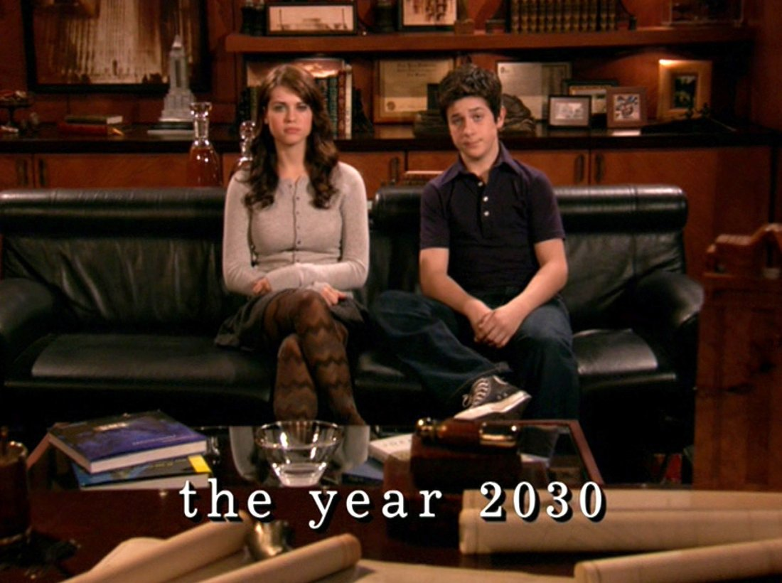 How I Met Your Mother David Henrie E Lyndsy Fonseca Nel Pilot Della Serie 309301