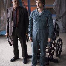 Hannibal: Laurence Fishburne e Hugh Dancy nell'episodio Mukozuke della seconda stagione