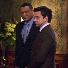 Hannibal: Raúl Esparza e Laurence Fishburne nell'episodio Futamono