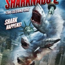 Sharknado 2: The Second One: la locandina del film