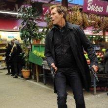 The Following: Kevin Bacon durante un momento dell'episodio Freedom della seconda stagione