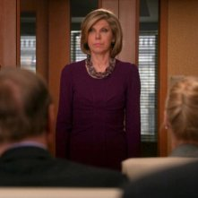 The Good Wife: Christine Baranski in una scena dell'episodio The Last Call