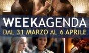 Week-Agenda: Nymphomaniac, Trono di Spade 4 e Divergent