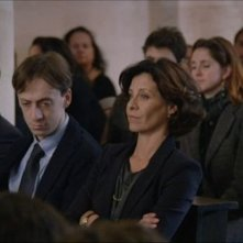 Carmelo Galati, Niccolò Senni e Carlotta Natoli in una scena della serie tv Braccialetti Rossi
