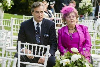 Un matrimonio da favola: Max Tortora in una scena con Roberta Fiorentini