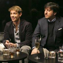 Un matrimonio da favola: Ricky Memphis in una scena del film con Giorgio Pasotti