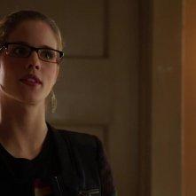 Arrow: Emily Bett Rickards in una scena dell'episodio Doppio gioco, della prima stagione