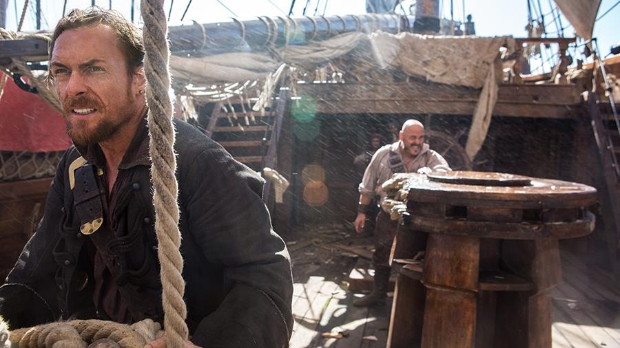 Black Sails Toby Stephens E Mark Ryan Nel Quinto Episodio Della Prima Stagione 328924