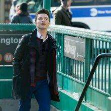 Glee: Chris Colfer in una scena dell'episodio New New York