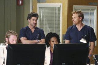 Grey's Anatomy: Patrick Dempsey e Kevin McKidd nell'episodio Do You Know?