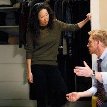 Grey's Anatomy: Sandra Oh con Kevin McKidd nell'episodio Do You Know?