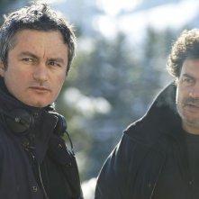L'amour est un crime parfait: i registi del film Arnaud Larrieu e Jean-Marie Larrieu sul set