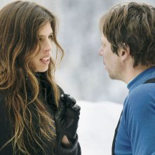 L'amour est un crime parfait: Mathieu Amalric in una scena con Maïwenn