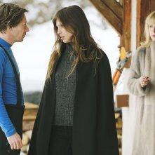 L'amour est un crime parfait: Mathieu Amalric in una scena con Maïwenn e Karin Viard