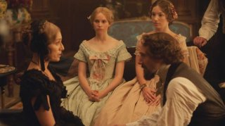 Ralph Fiennes con Kristin Scott Thomas e Felicity Jones in The Invisible Woman