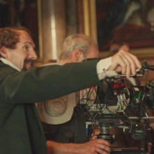 Ralph Fiennes sul set di The Invisible Woman