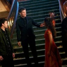 The Originals: Danielle Campbell con Joseph Morgan e Steven Krueger nell'episodio The Big Uneasy