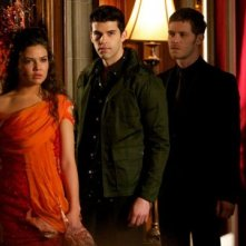 The Originals: Danielle Campbell, Joseph Morgan e Steven Krueger nell'episodio The Big Uneasy