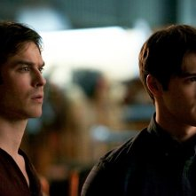 The Vampire Diaries: Ian Somerhalder e Steven R. McQueen nell'episodio Rescue Me