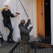 24: Live Another Day, Yvonne Strahovski sul set