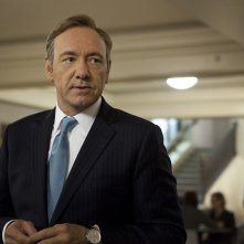 House of Cards: Kevin Spacey in una scena della serie
