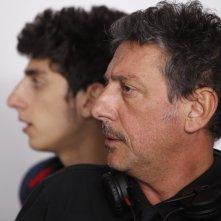 Venuto al mondo: Pietro e Sergio Castellitto sul set