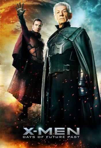 X-Men: Days Of Future Past: il poster di Magneto e Magneto, Ian McKellen e Michael Fassbender