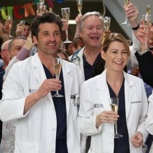 Grey's Anatomy: Ellen Pompeo e Patrick Dempsey nell'episodio I'm Winning