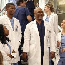 Grey's Anatomy: Jerrika Hinton, Gaius Charles, James Pickens, Camilla Luddington nell'episodio I'm Winning