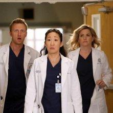 Grey's Anatomy: Jessica Capshaw, Kevin McKidd e Sandra Oh nell'episodio I'm Winning