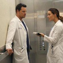 Grey's Anatomy: Justin Chambers in una scena dell'episodio You Be Illin'