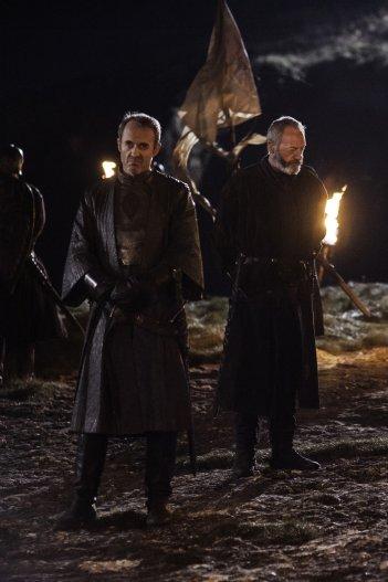 Il trono di spade: Stephen Dillane e Liam Cunningham nell'episodio The Lion and the Rose