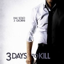 3 Days to Kill: la locandina italiana del film