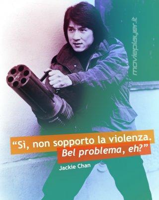 Jackie Chan - la nostra e-card con una frase dell'attore
