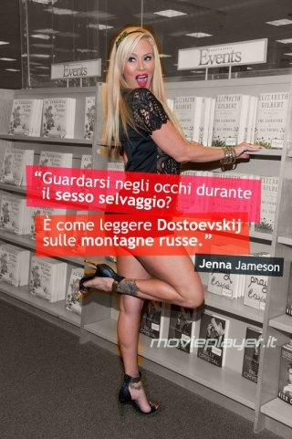 Jenna Jameson - la nostra e-card con una frase dell'attrice