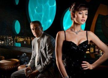 Magic City: Jeffrey Dean Morgan ed Olga Kurylenko in una immagine promozionale
