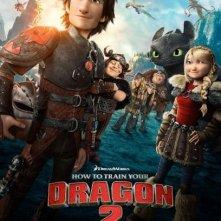 Dragon Trainer 2: la nuova locandina del film