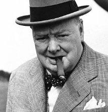 Una foto di Winston Churchill