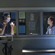 Grey's Anatomy: Ellen Pompeo in una scena dell'episodio Go It Alone