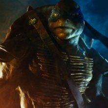 Tartarughe Ninja: un primo piano di Leonardo