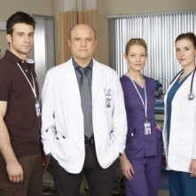 Remedy: Dillon Casey, Enrico Colantoni, Sarah Allen e Sara Canning in un'immagine promozionale