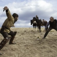 The Homesman: Tommy Lee Jones pronto al combattimento