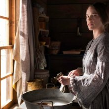 The Homesman: un'immagine di Hilary Swank