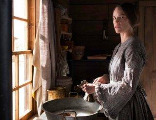 The Homesman: un'immagine di Hilary Swank