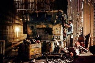 Transformers: Age of Extinction: Mark Wahlberg si arrampica su Optimus Prime