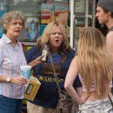 Tammy: Susan Sarandon e Melissa McCarthy litigano con due ragazzini
