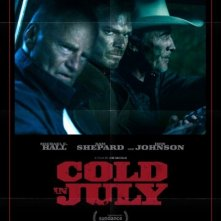 Cold in July: la locandina del film