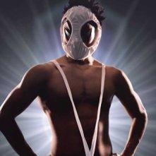 HK: Forbidden Super Hero - Il protagonista Ryohei Suzuki in tenuta da supereroe