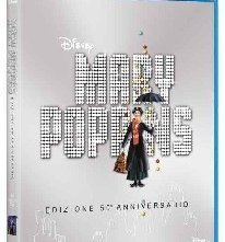 La copertina di Mary Poppins (blu-ray)