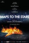 Maps to the stars: il poster italiano del film